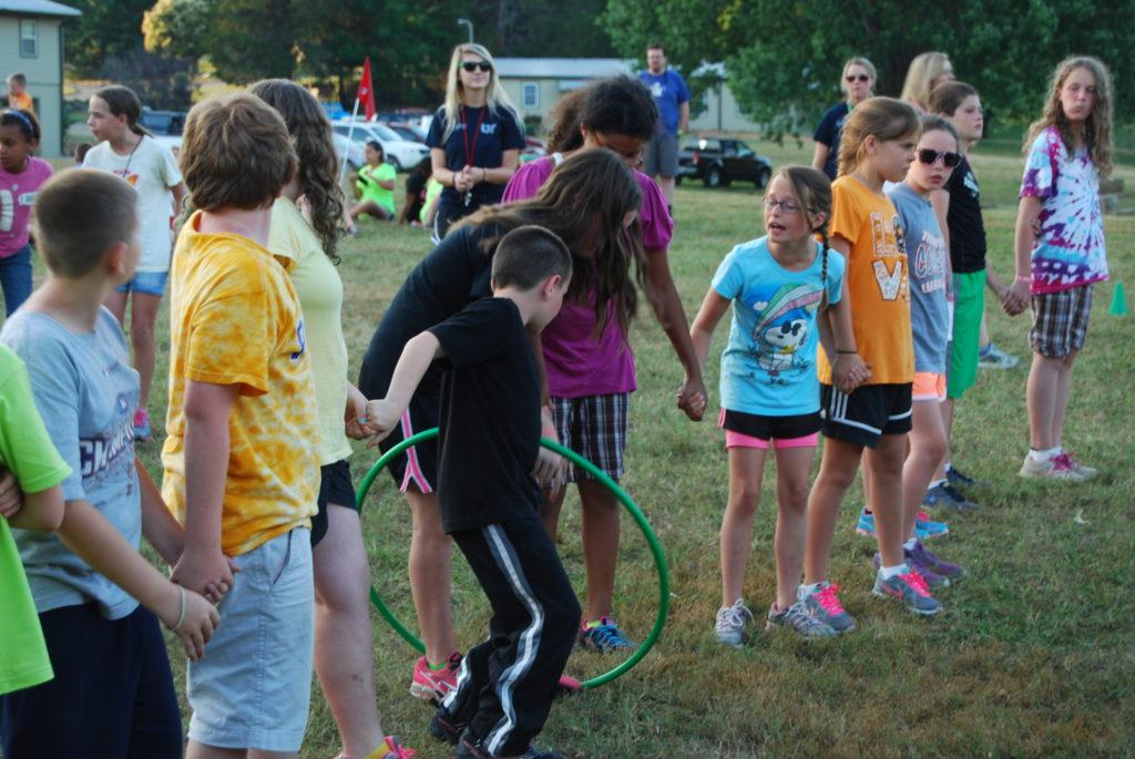 Junior 4-H Camp Games